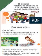 apresentação de abuso e violência sexual de crianças e adolescentes