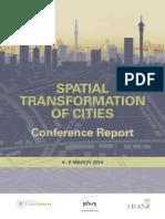 Spatial Transformation Conf Report