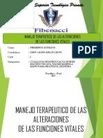 MANEJO TERAPEUTICO DE LAS ALTERACIONES  2017 de fer.pptx