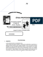Carpeta de Trabajo 13 Etica Profesional