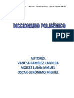 DICCIONARIO POLISÉMICO ACTUALIZADO