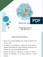 Fisiología General I - Membrana funciones, transporte - copia.pptx