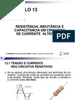 Fundamentos de Eletricidade - Cap 13 Impedâncias Em Corrente Alternada (1)