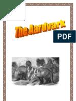 Aardvark Mini Fact Book, by Donnette E Davis, St Aiden's Homeschool, South Africa