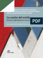 Alfón (2017) La Razón Del Estilo