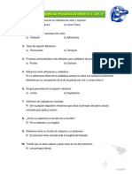 Cuestionario de Procesos de Unión