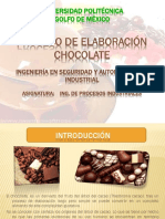 Chocolate Process
