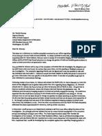 PG Board response letter
