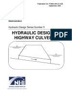 Selected FHWA Culvert Nomographs