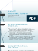 Escuela Estatutaria Italiana