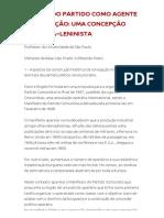 O PAPEL DO PARTIDO COMO AGENTE DE EDUCAÇÃO_ UMA CONCEPÇÃO MARXISTA−LENINISTA _ PCB – Partido Comunista Brasileiro