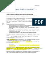 Metricas del marketing