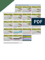 Academic Calendar PGPpro Delhi