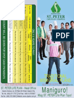 St Peter Traditional Life Plan