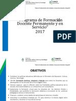 Programa de F. P. y en S 17