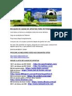 Modulo 1 - Aula 3 - Relação de Casas de Apostas Para Retirada de Bônus(2)