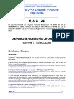 RAC  26 - Aeronaves de Categoría Liviana (ALS).pdf