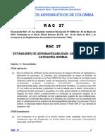 RAC  27 - Estándares Aeronavegabilidad Giroaviones Categoría Normal.pdf