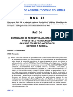 RAC  34 - Drenaje Combustible y Emisiones  Gases de Escape Aviones Motores a Turbina.pdf