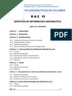 RAC  15 - Servicios de Información Aeronáutica.pdf