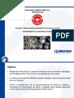 Presentacion Estudio y Simulacion de Desempeño de Bolas y Cylpes Febrero 2015