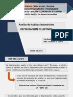 Aval Activos Indust Ucat - Sesion 03 - 01 (Depreciacion)