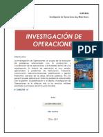 Clase 1 - Introducción a Investigación de Operaciones