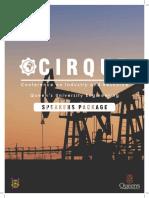 CIRQUE 2018 Speakers Package