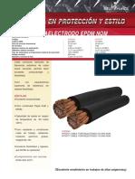 Cable Portaelectrodo AWGNOM Es Mx