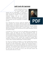 Biografia Lagrange FINAL