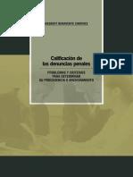 Calificacion de Las Denuncias Penales-hesbert Benavente
