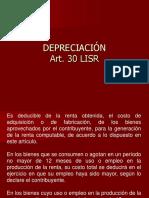 ART. 30 DEPRECIACI+ôN (1)