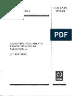 1291-88 Salmonella alimentos COVENIN.pdf