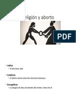 Religión y Aborto