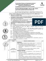 PROCESO DE CONVOCATORIA CAS N2  305-2015