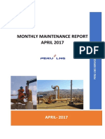 Monthly Maintenance Report- April 2017_R2