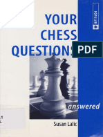 Susan Lalic - Your Chess Questions
