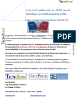 Cambios Reforma Constitucional Vzla