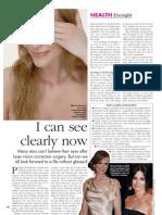 HELLO! Magazine Laser Eye Surgery Article