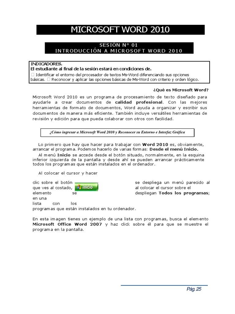 Famoso Hacer Un Currículum Usando Microsoft Word 2007 Ideas ...