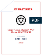 Circulo Acanto 19 Instruccion Asociado Martinista