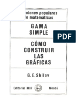 Gama Simple & Como Construir Las Gráficas - Shilov