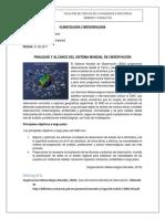 Finalidad y Alcance Del Sistema Mundial de Observacion