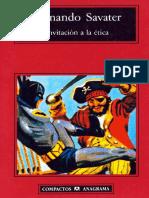 Savater - Invitación a la ética - Ed Anagrama.pdf