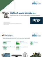 MATLAB Meets LEGO Mindstorm