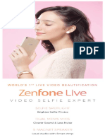 ZenFone Live Brochure