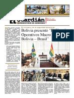 Ministerio de Gobierno Bolivia El Guardián, mayo 2017