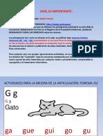 ACTIVIDADES MEJORA FONEMA G.ppt