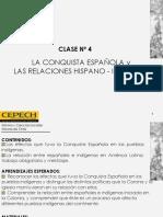 La Conquista y Las Relaciones Hispano - Indigenas