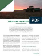 M1 U2 AC14 What Are Farm Policies
